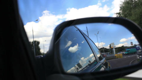 Driving a car Stock Video Footage