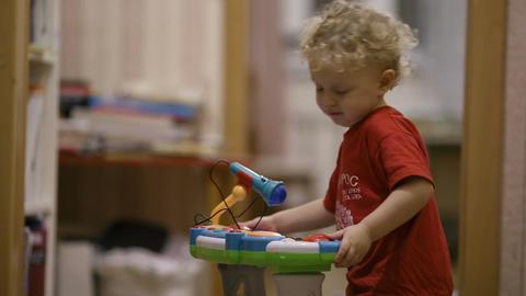 Little boy dancing Stock Video Footage