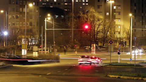 4 K Budapest Hungary Timelapse 20 Stock Video Footage
