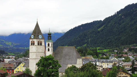 4K Euroepan Alps Clouds Timelapse 2 Stock Video Footage