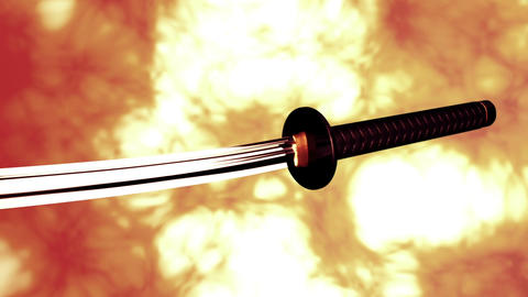 Samurai Katana Japanese Sword 5 Animation