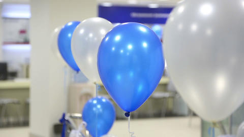 Swaying balloons Stock Video Footage