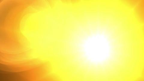 abstract background - glowing sun Stock Video Footage