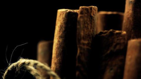 Food Spices Cinnamon Stock Video Footage