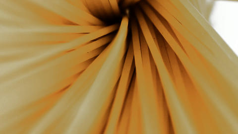Food & Dining Spaghetti in a pot spinning macro sh Stock Video Footage