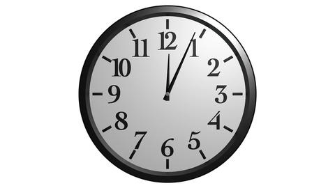 wall clock timelapse Stock Video Footage
