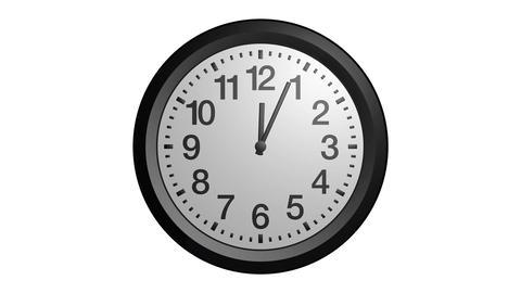 rotating clock ticker Stock Video Footage