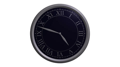 classic clock design Animation