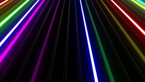 Neon tube W Mbf F L 1 HD Stock Video Footage