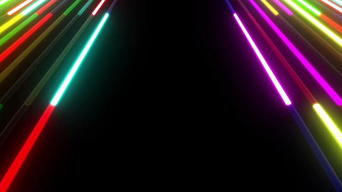 Neon tube W Mbf S S 1 HD Stock Video Footage
