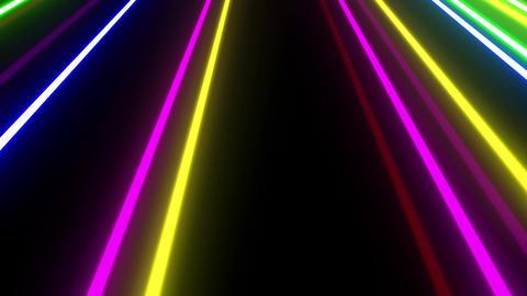 Neon tube W Mbm F L 1 HD Stock Video Footage