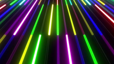 Neon tube W Mbm F S 1 HD Stock Video Footage