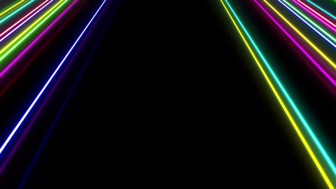 Neon tube W Msf S L 1 HD Stock Video Footage