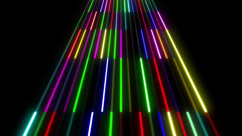 Neon tube W Msf S S 1 HD Stock Video Footage