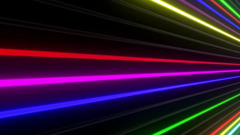 Neon tube W Nbf F L 1 HD Stock Video Footage