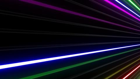 Neon tube W Nbf F L 1 HD Stock Video Footage