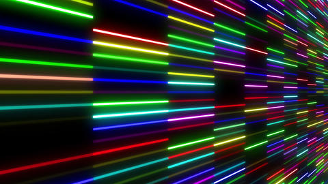 Neon tube W Nsf F S 1 HD Stock Video Footage