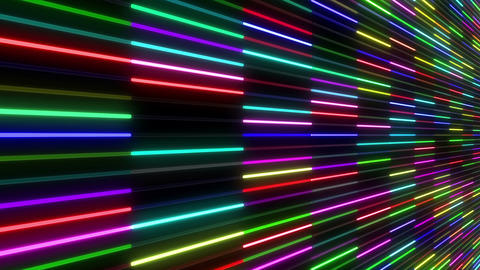 Neon tube W Nsm F S 1 HD Stock Video Footage