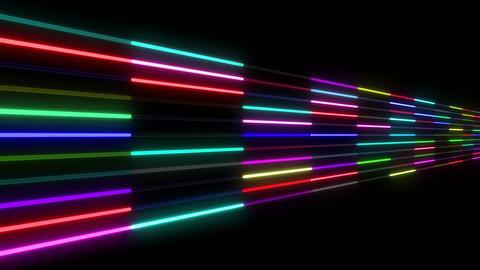 Neon tube W Nsm S S 1 HD Stock Video Footage