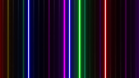Neon tube W Tbf F L 1 HD Stock Video Footage