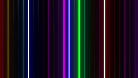 Neon tube W Tbf F L 1 HD Animation