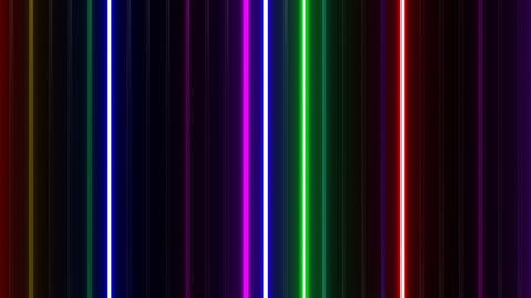 Neon tube W Tbf F L 1 HD Animation