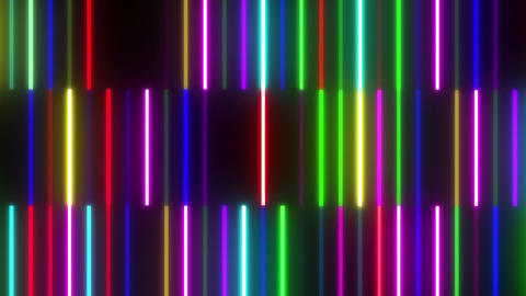 Neon tube W Tbf F S 1 HD Stock Video Footage