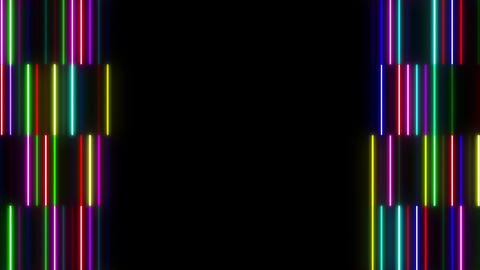 Neon tube W Tsf S S 1 HD Stock Video Footage