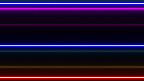 Neon tube W Ybf F L 1 HD CG動画