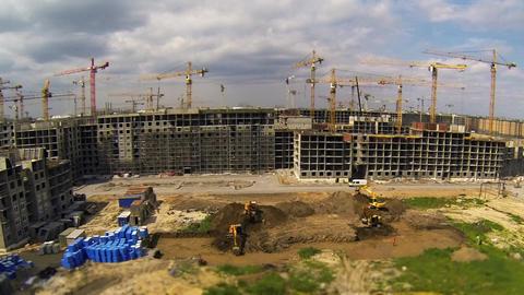 big construction Footage