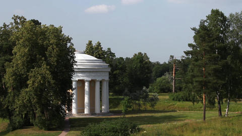 Temple of friendship in Pavlovsk Footage