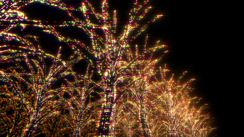 illumination tree neon B 1 HD Animation