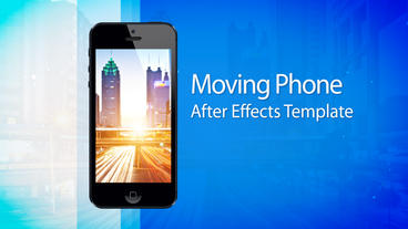 Moving Phone 15s Commercial - After Effects Template After Effects Project