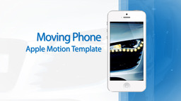 Moving Phone 15s Commercial White - Apple Motion and Final Cut Pro X Template Apple Motion Project