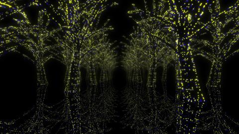 illumination tree neon H 1m HD Stock Video Footage