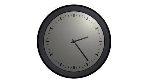 simple clock timelapse Stock Video Footage