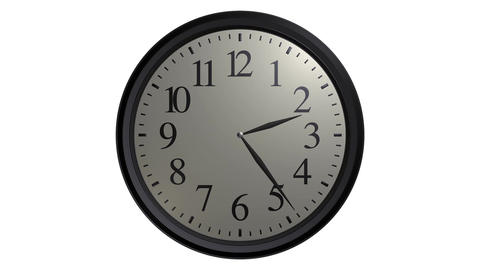 popular wall clock Animation