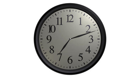 popular wall clock Stock Video Footage