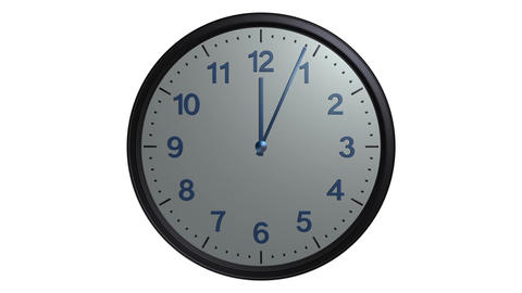 mac clock ticking Animation
