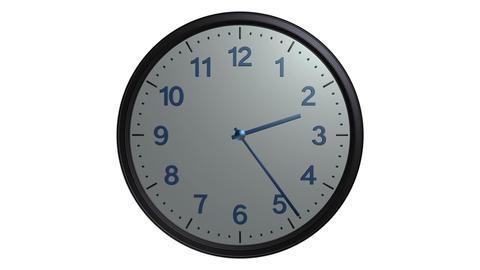 mac clock ticking Stock Video Footage