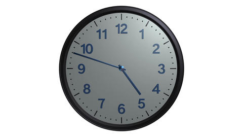 mac clock ticking Stock Video Footage