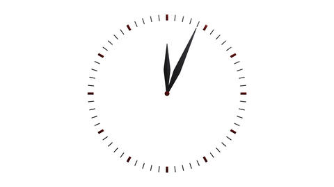 transparency clock timelapse Stock Video Footage