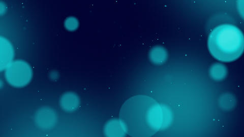 Defocused Particles Background stock footage