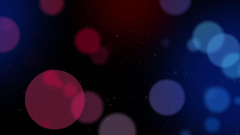 Defocused particles background. Red and blue Stock Video Footage