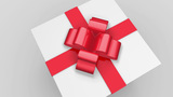 Gift Is Opened stock footage