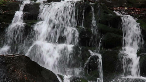 Waterfalls Clip stock footage