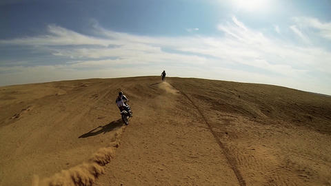 Sport Motocross racing exciting tough adventure ex Footage