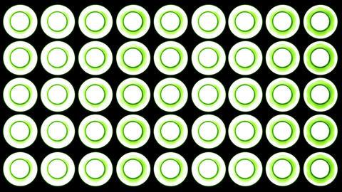 4 K Led Lights 12 green Footage