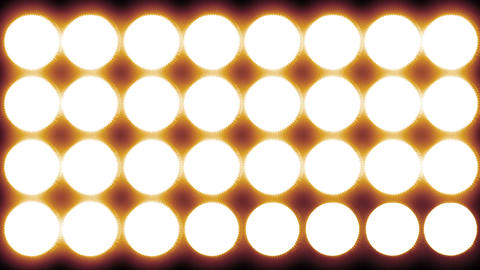 4 K Led Lights 14 red Stock Video Footage
