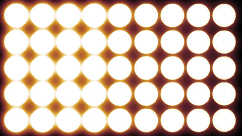 4 K Led Lights 16 red Stock Video Footage